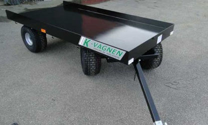 Bild på Gravmaterialsvagn