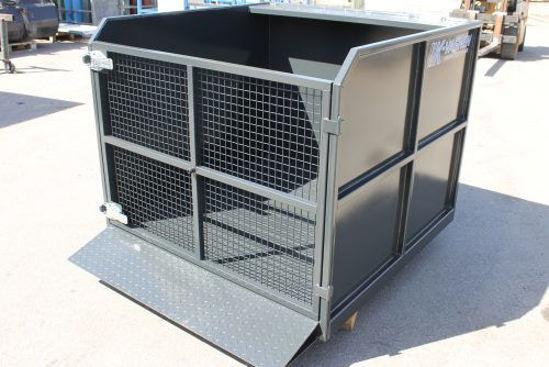 Bild på K-vagnen Frontlastarcontainer med frontdörr
