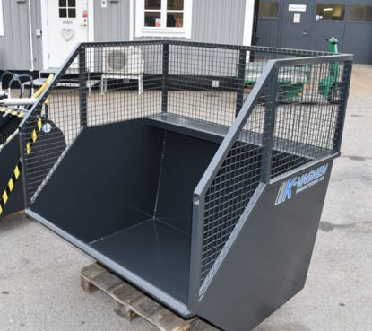 Bild på K-vagnen Frontlastarcontainer standardutförande 1,5 kubik