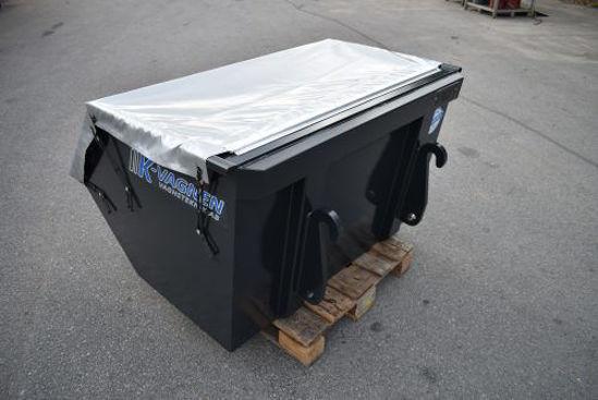 Bild på K-vagnen Frontlastarcontainer standardutförande 1,2 kubik