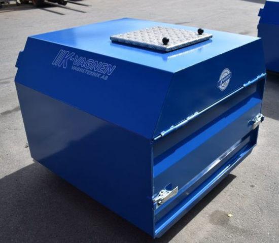 Bild på K-vagnen Frontlastarcontainer täckt