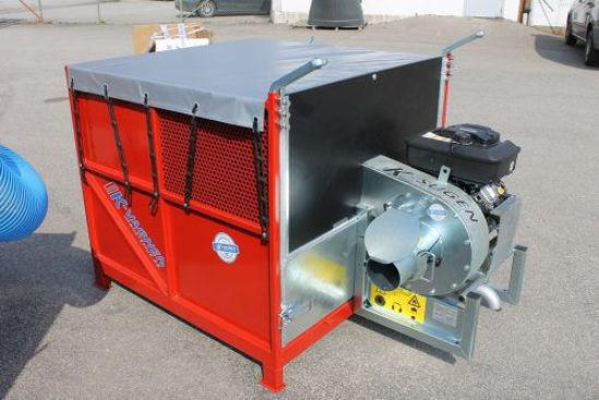 Bild på K-vagnen Frontlastarcontainer med K-sugen