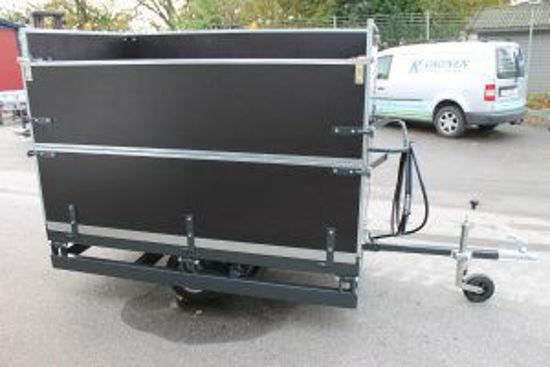 Bild på K-vagnen Gravlåda G45