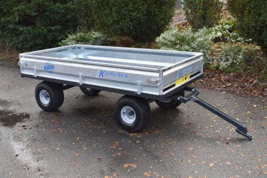 Bild på K-vagnen Gravmaterialvagn