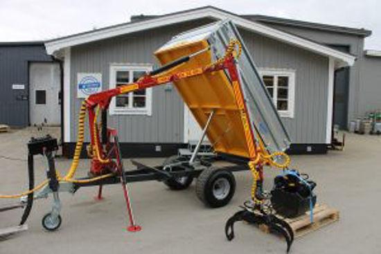 Bild på K-vagnen kranvagnar