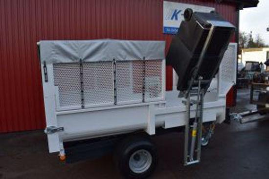 Bild på K-vagnen  sopkärlslyft/kärlvändare