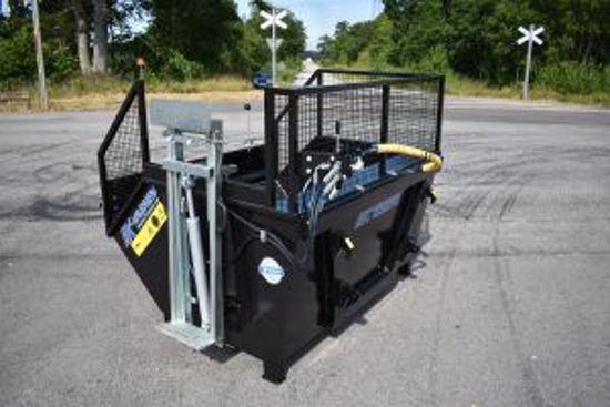 Bild på K-vagnen  sopkärlslyft containermontage 1400
