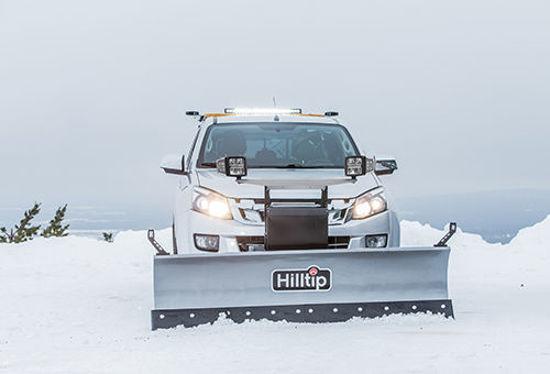 Bild på HillTip SnowStriker Pickup diagonalplog