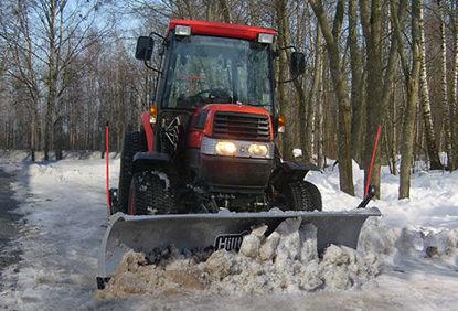 Bild på HillTip SnowStriker Traktor Diagonalblad