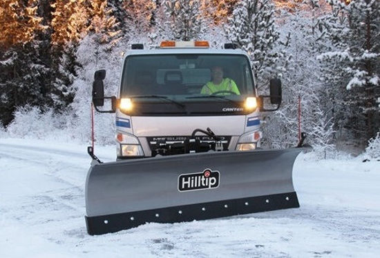Bild på HillTip SnowStriker™ Diagonalblad för lastbilar