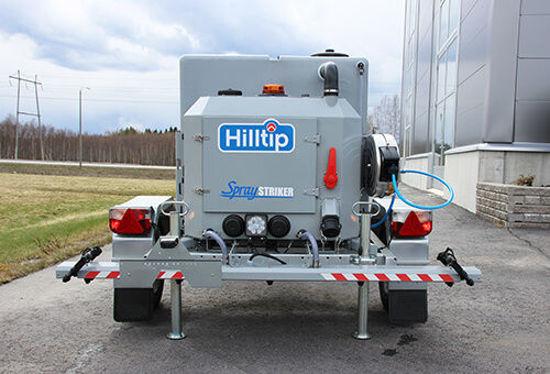 Bild på Hilltip Bogserbara Spridare & Saltlakespridare